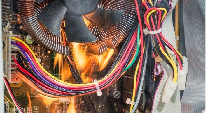 تهویه دستگاه استخراج رمزارز